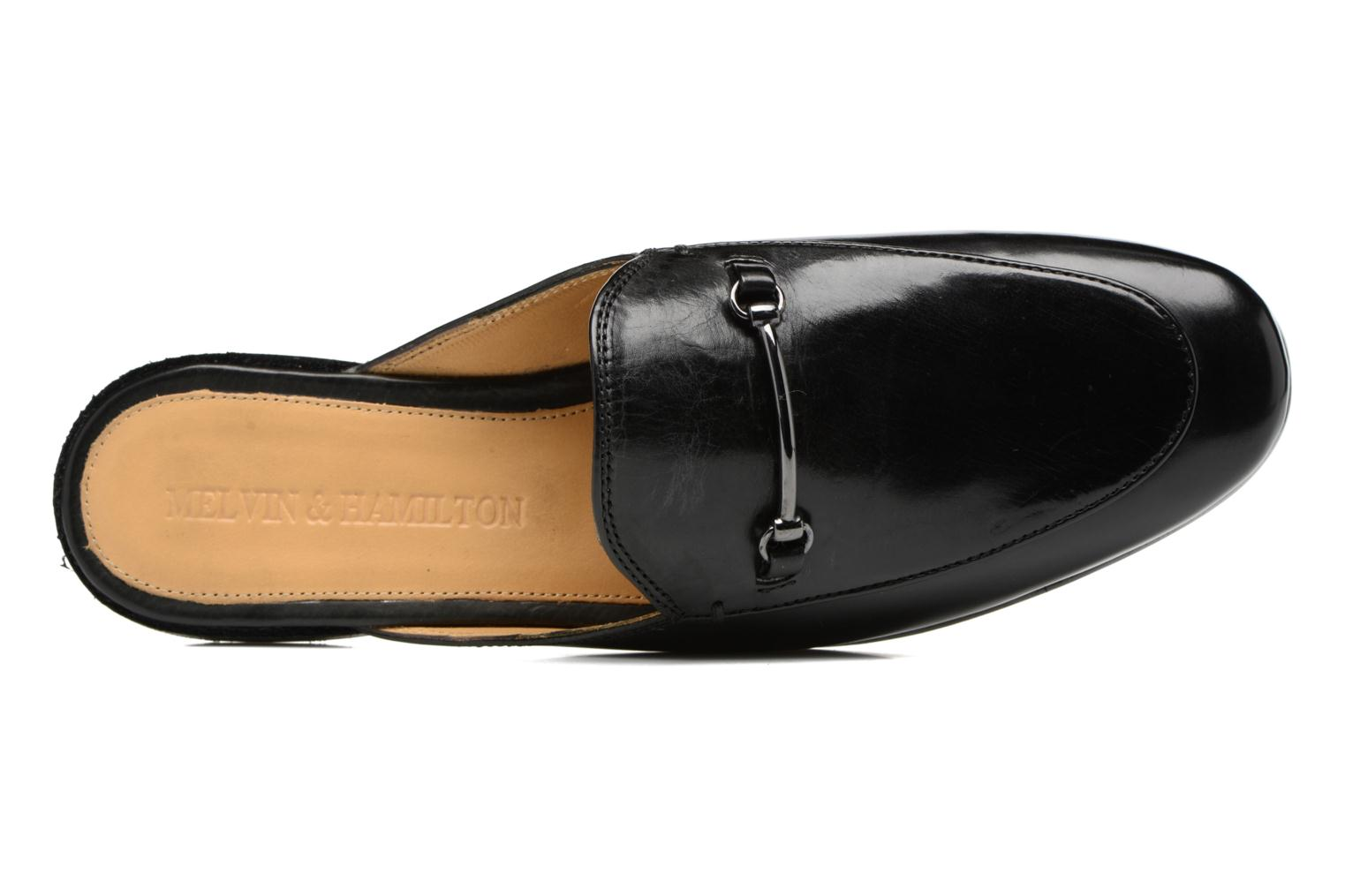 Loafers Melvin & Hamilton Scarlett 4 Black view from the left
