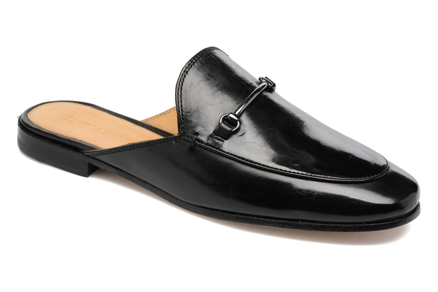 Loafers Melvin & Hamilton Scarlett 4 Black detailed view/ Pair view