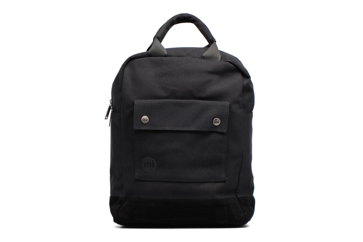 Tote Backpack Black Canvas