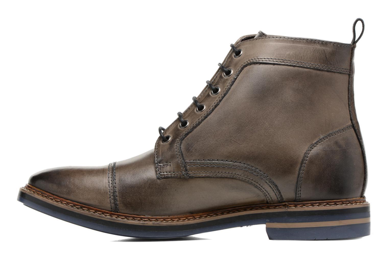 Bottines et boots Base London Hockney Gris vue face