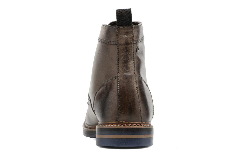 Bottines et boots Base London Hockney Gris vue droite