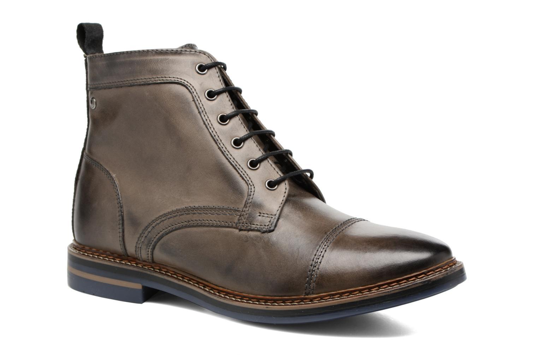 Bottines et boots Base London Hockney Gris vue détail/paire