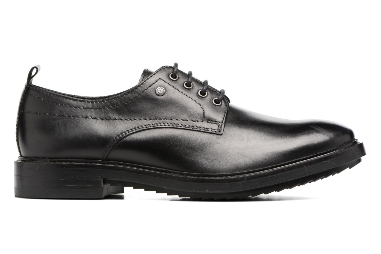 Zapatos con cordones Base London Elba Negro vistra trasera