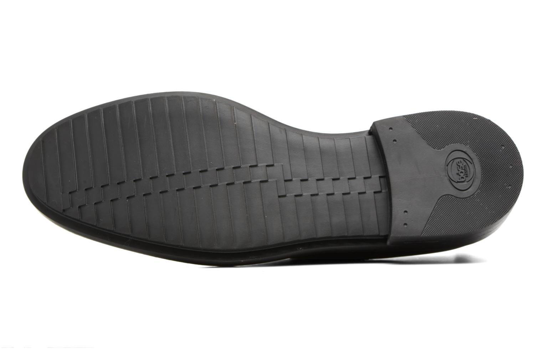 Chaussures à lacets Base London Elba Noir vue haut