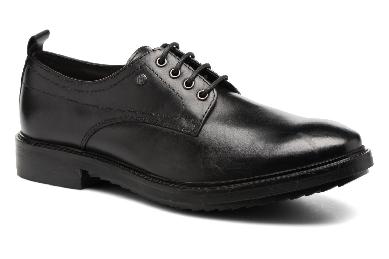 Chaussures à lacets Base London Elba Noir vue détail/paire