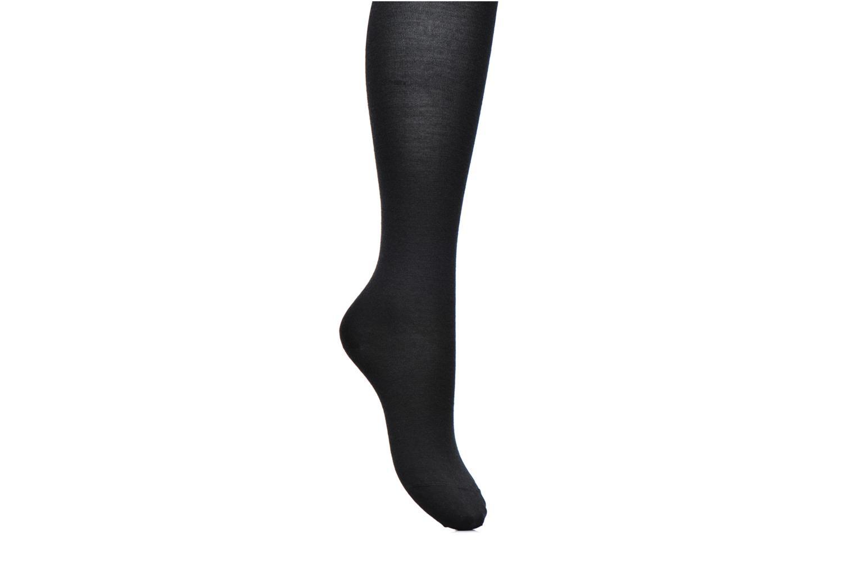 Chaussettes et collants BLEUFORÊT Collants Laine Fine Intérieur Coton Noir vue détail/paire