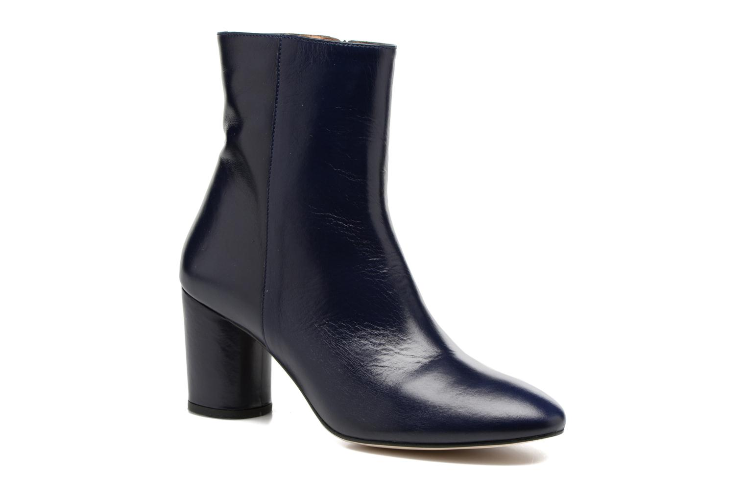 Ankle boots Jonak 11700 Blue detailed view/ Pair view