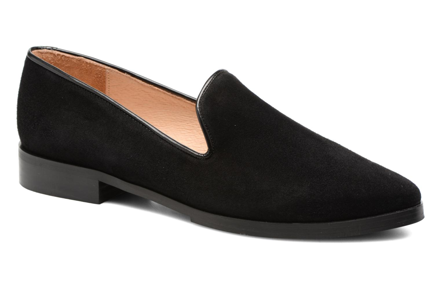 Loafers Jonak Aurore Black detailed view/ Pair view