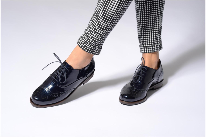 Chaussures à lacets Hassia Franci 1154 Bleu vue bas / vue portée sac