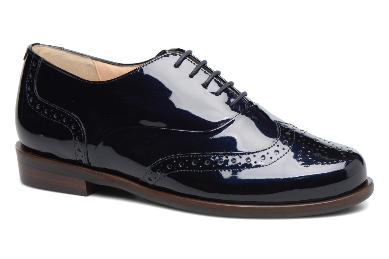 Chaussures à lacets Hassia Franci 1154 Bleu vue détail/paire