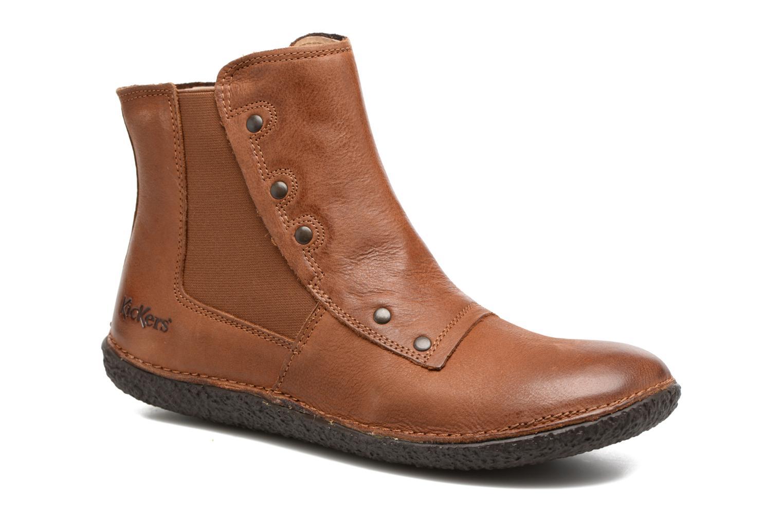 Kickers HAPPLI (Marron) - Bottines et boots chez Sarenza (305390)