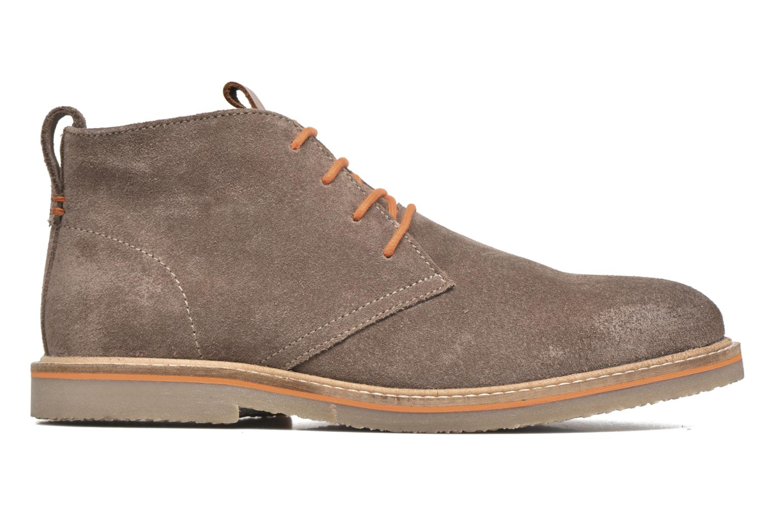 Lace-up shoes Gioseppo 42253 Brown back view