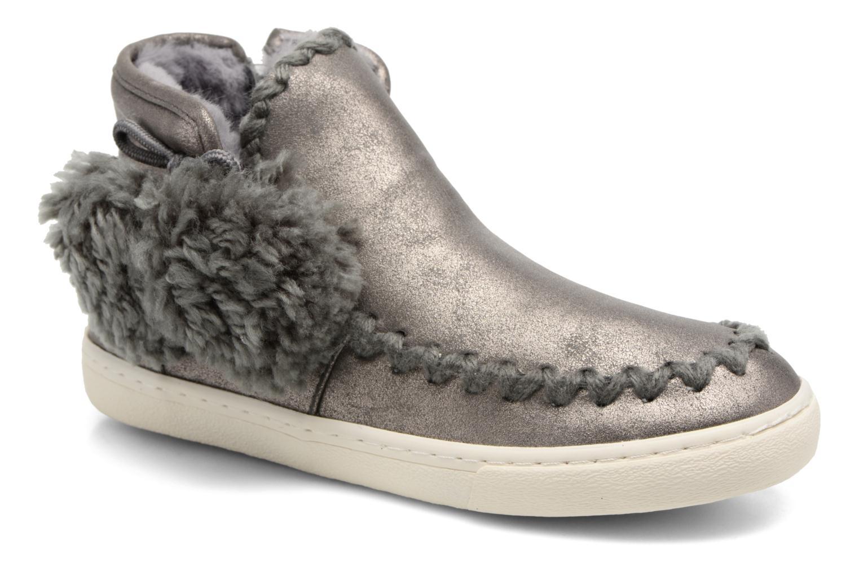 Ankelstøvler Gioseppo 41795 Sølv detaljeret billede af skoene