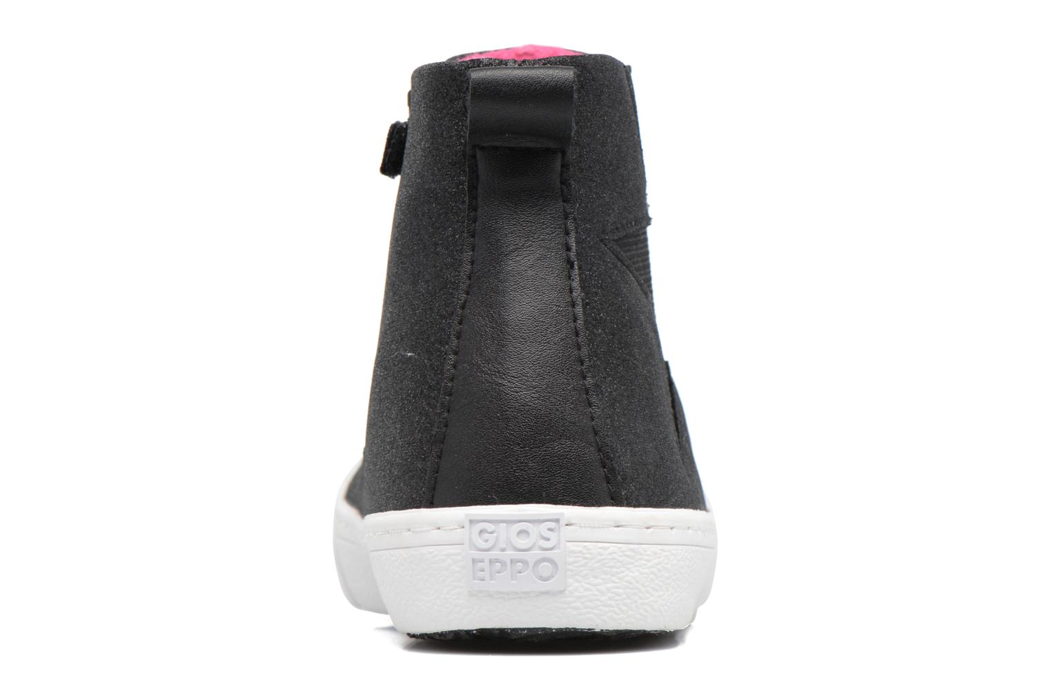 Ankle boots Gioseppo 41813 Black view from the right