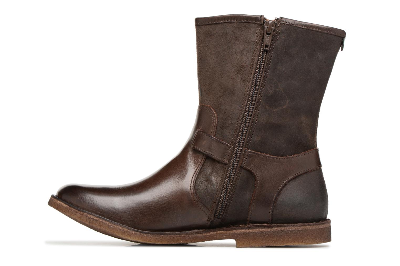 Boots en enkellaarsjes Kickers CREEK Bruin voorkant