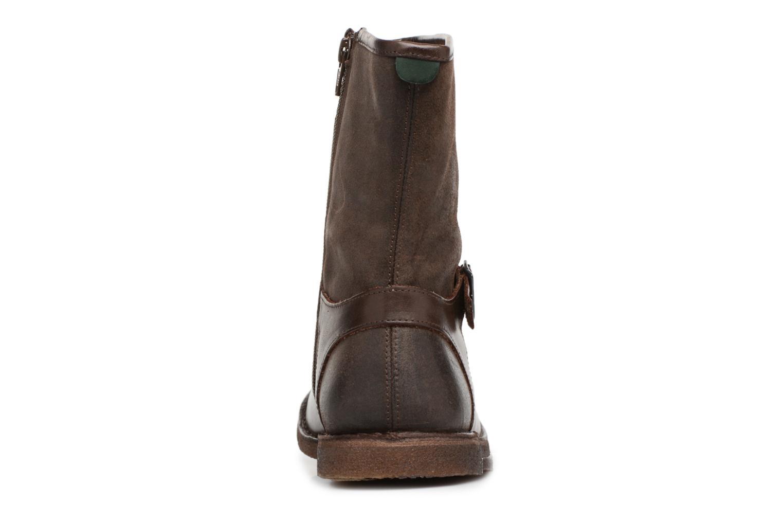 Boots en enkellaarsjes Kickers CREEK Bruin rechts