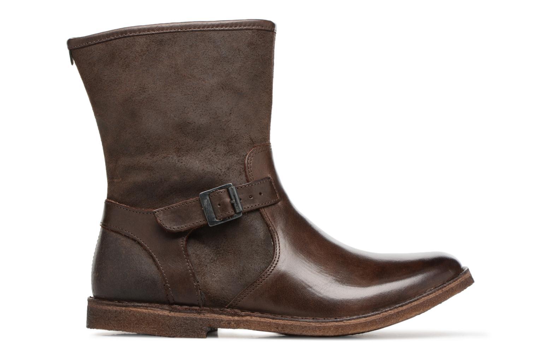 Boots en enkellaarsjes Kickers CREEK Bruin achterkant