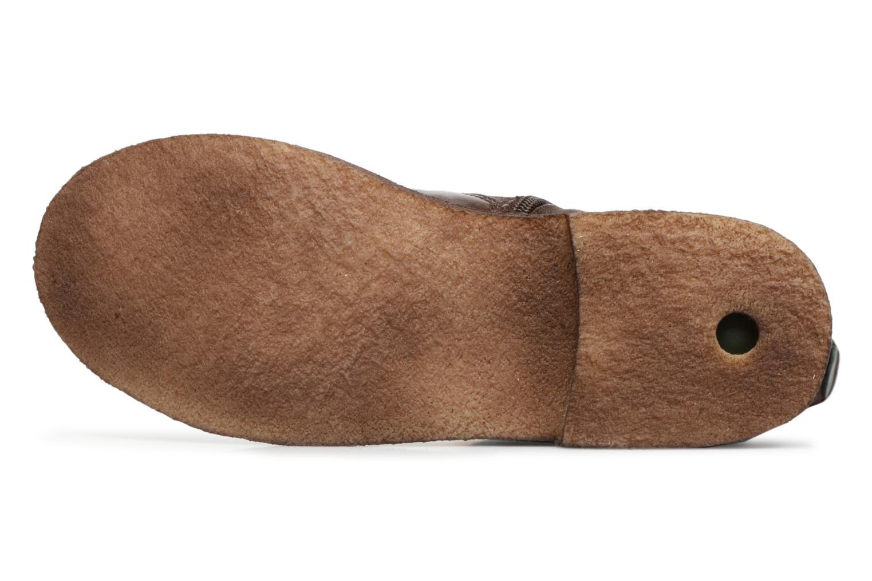 Boots en enkellaarsjes Kickers CREEK Bruin boven