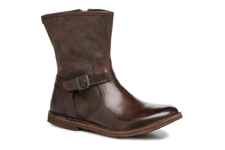 Boots en enkellaarsjes Kickers CREEK Bruin detail