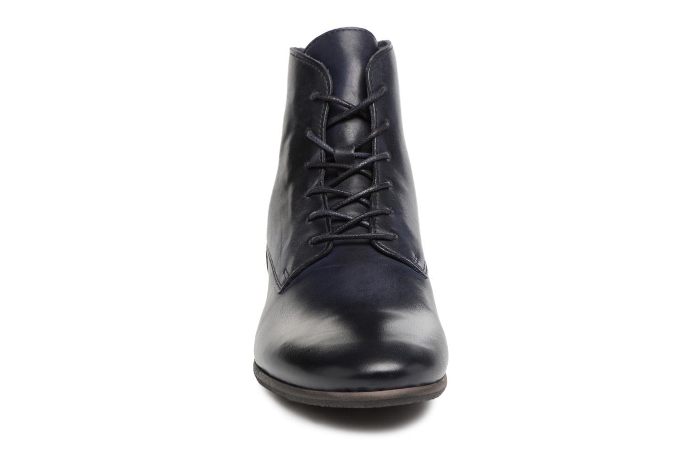 Bottines et boots Kickers GAMEGIRL Bleu vue portées chaussures