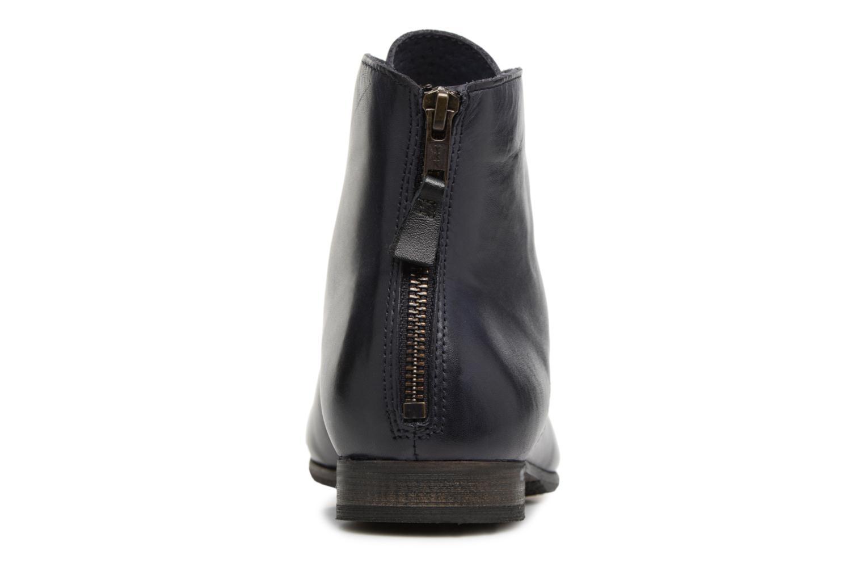 Bottines et boots Kickers GAMEGIRL Bleu vue droite