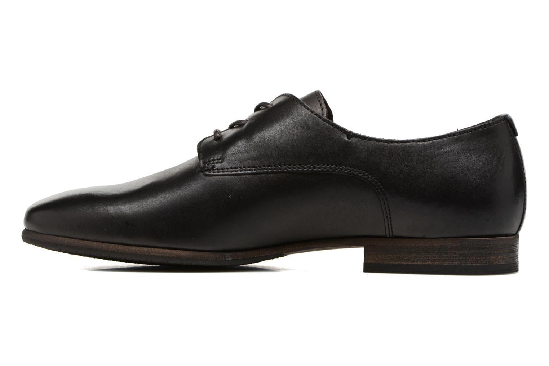 Chaussures à lacets Kickers GAZELLAN Noir vue face