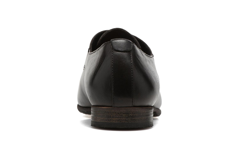 Chaussures à lacets Kickers GAZELLAN Noir vue droite