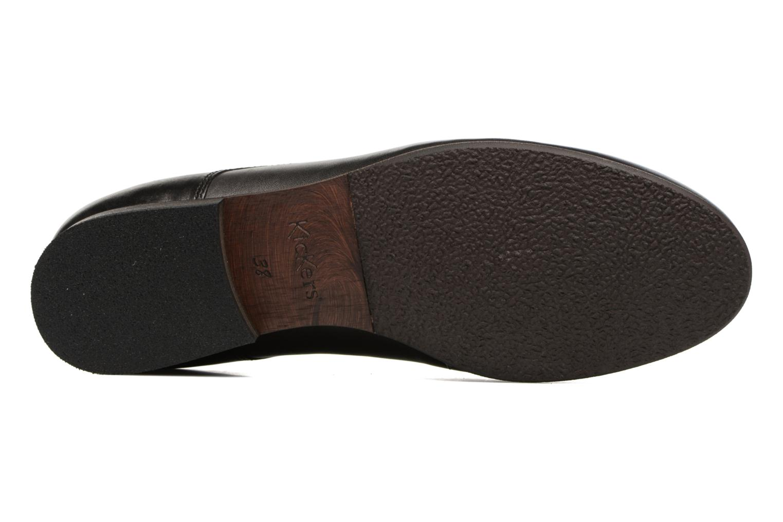 Chaussures à lacets Kickers GAZELLAN Noir vue haut