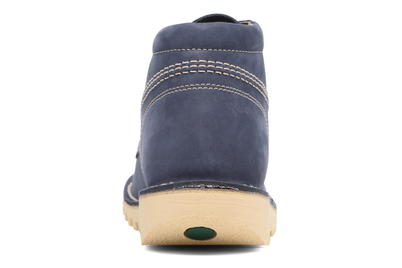 Bottines et boots Kickers NEORALLYE  Bleu vue droite