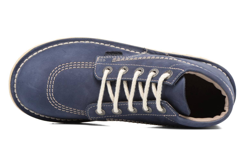 Bottines et boots Kickers NEORALLYE  Bleu vue gauche