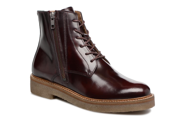 Bottines et boots Kickers OXFOTO Bordeaux vue détail/paire
