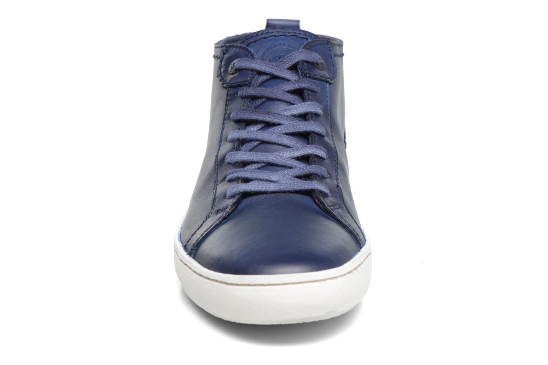 Baskets Kickers REVIEW Bleu vue portées chaussures