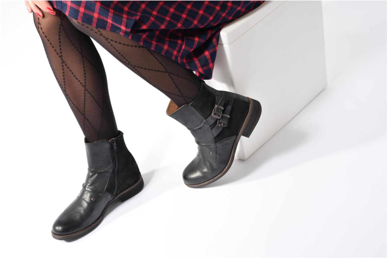 Bottines et boots Kickers SMATCH Noir vue bas / vue portée sac