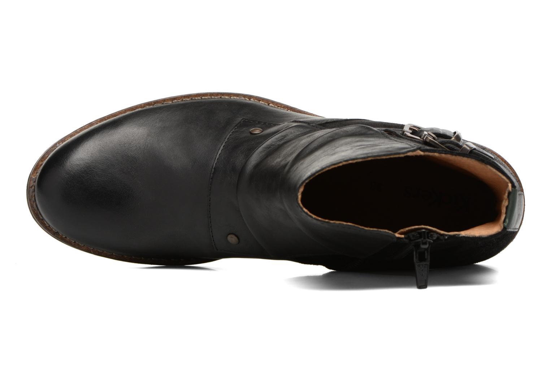 Bottines et boots Kickers SMATCH Noir vue gauche