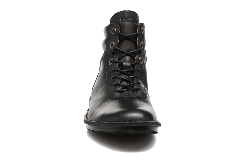 Bottines et boots Kickers WABUCK Noir vue portées chaussures