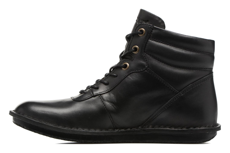 Bottines et boots Kickers WABUCK Noir vue face