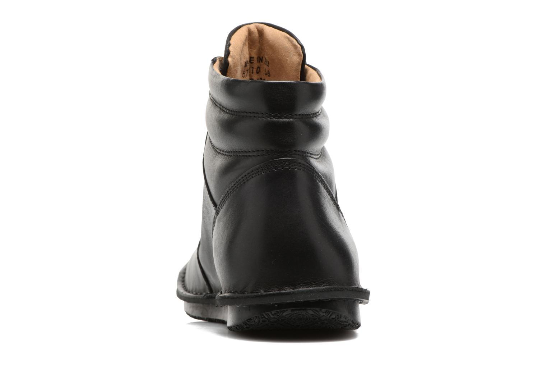 Bottines et boots Kickers WABUCK Noir vue droite