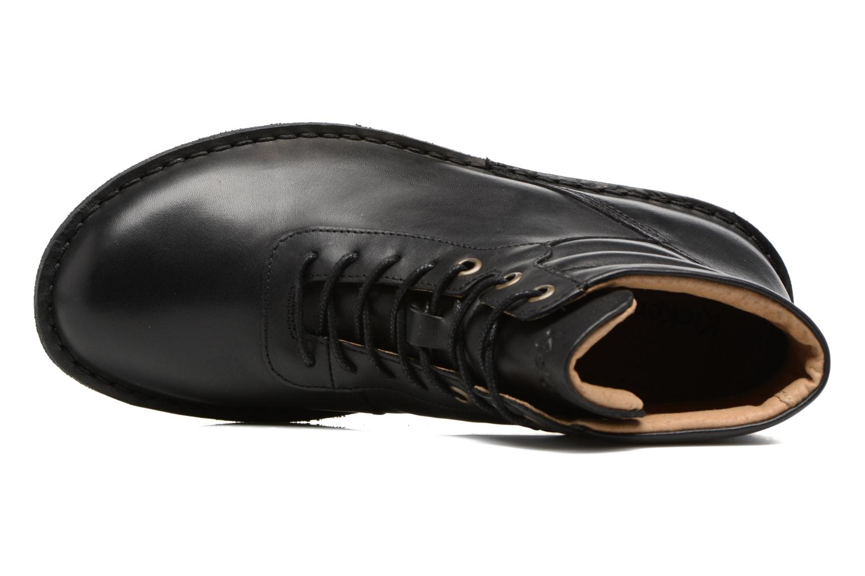 Bottines et boots Kickers WABUCK Noir vue gauche