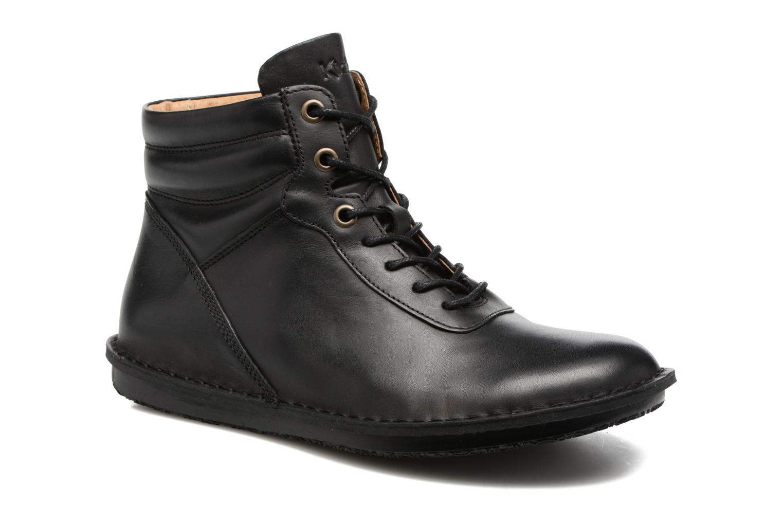 Bottines et boots Kickers WABUCK Noir vue détail/paire