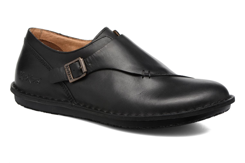 Grandes descuentos últimos zapatos Kickers WABUCKLOW (Negro) - Mocasines Descuento