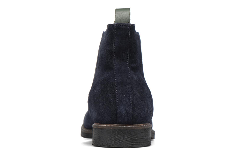 Bottines et boots Kickers MATARUS Bleu vue droite