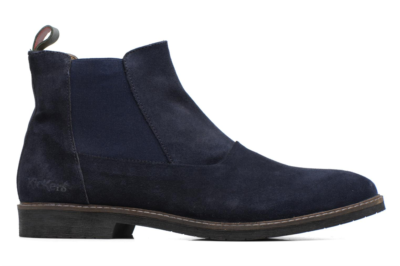 Bottines et boots Kickers MATARUS Bleu vue derrière