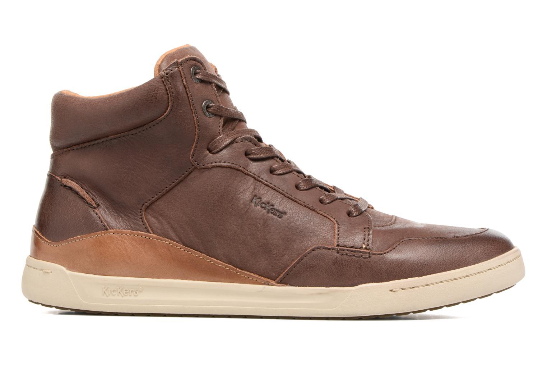 Sneakers Kickers CROSSOVER Marrone immagine posteriore