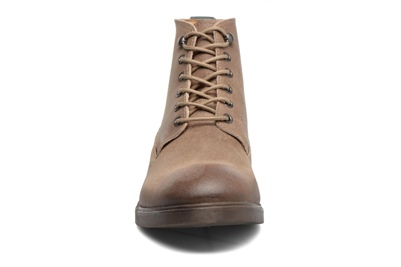 Bottines et boots Kickers HARLEMUS Beige vue portées chaussures