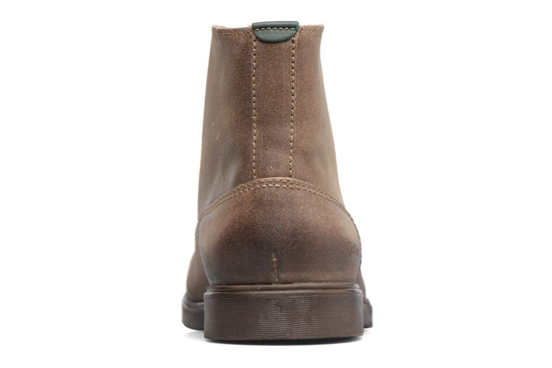 Bottines et boots Kickers HARLEMUS Beige vue droite
