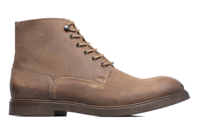 Stiefeletten & Boots Kickers HARLEMUS beige ansicht von hinten