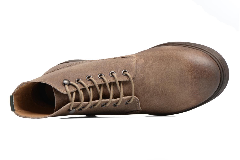 Bottines et boots Kickers HARLEMUS Beige vue gauche