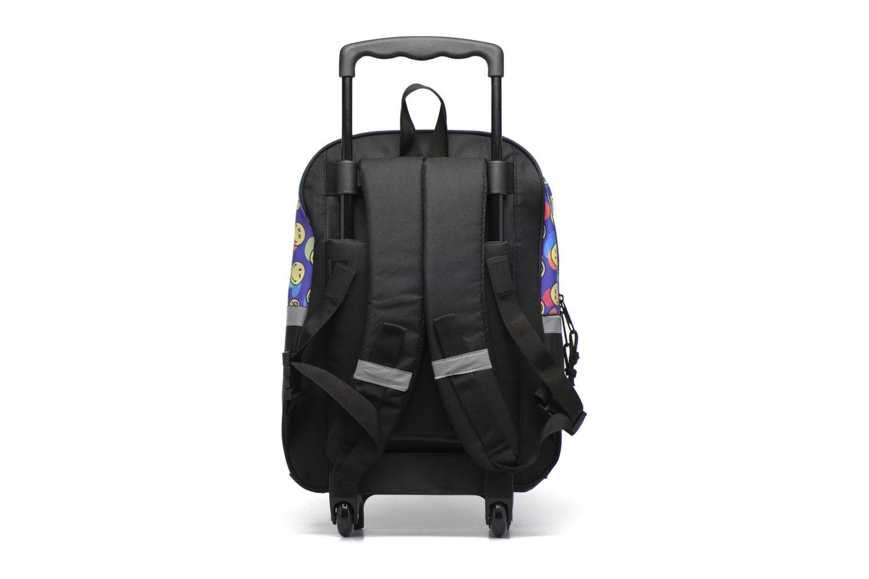 Per la scuola Smiley Backpack Trolley 40cm Multicolore immagine frontale