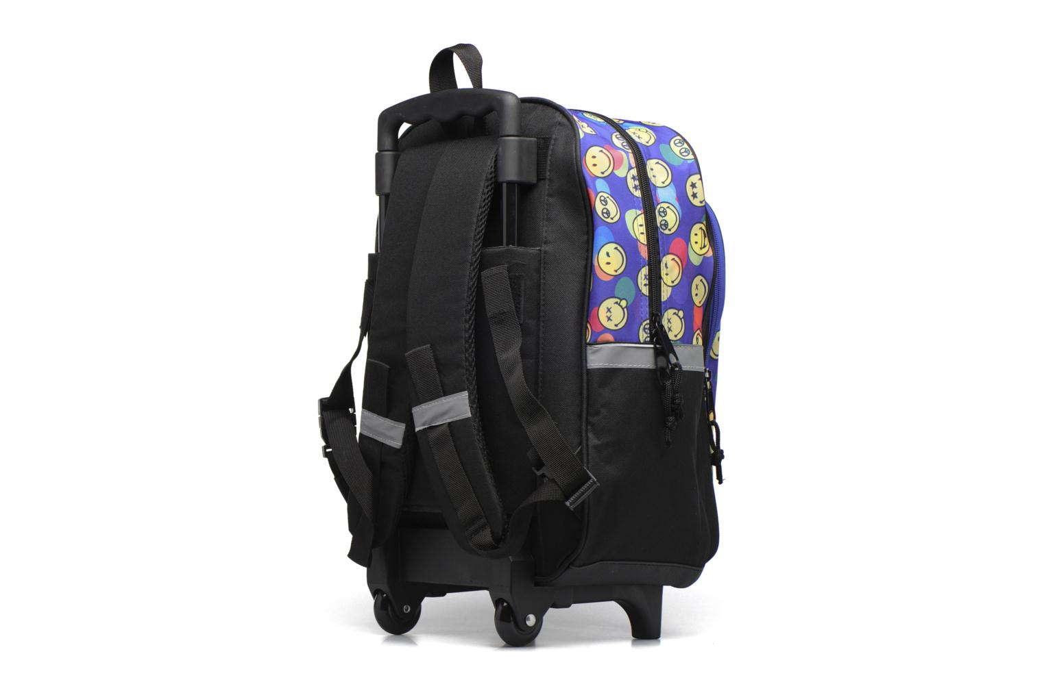 Bandoleras y Colegio Smiley Backpack Trolley 40cm Multicolor vista lateral derecha