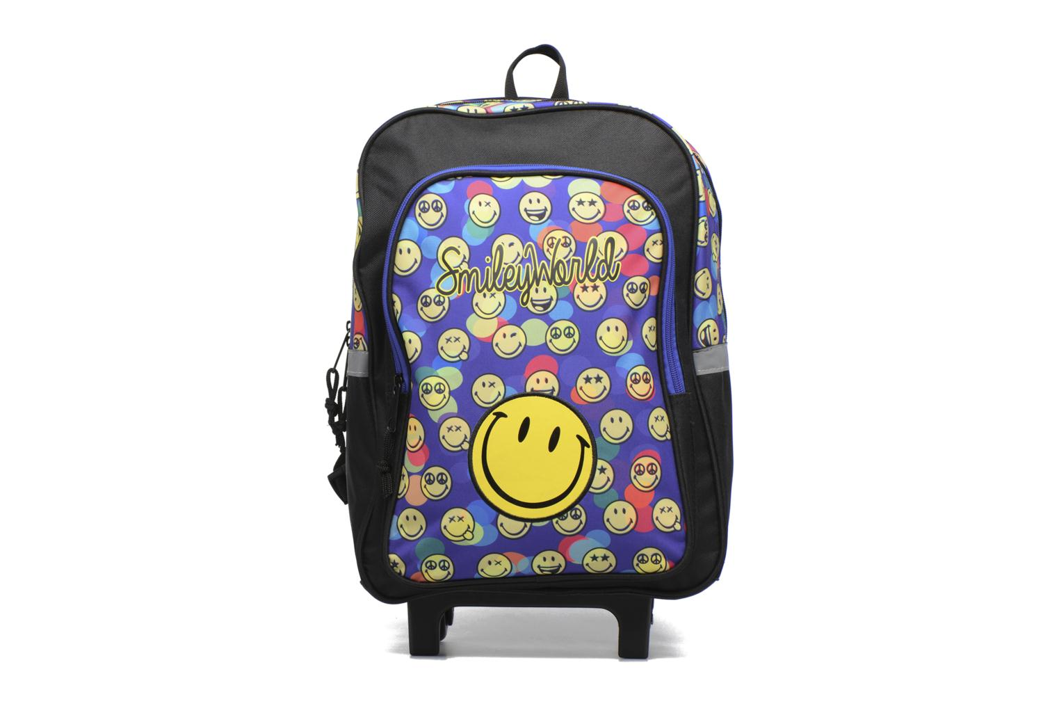 Bandoleras y Colegio Smiley Backpack Trolley 40cm Multicolor vista de detalle / par